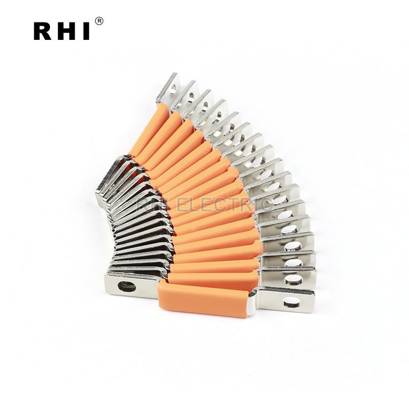 專業定製紫銅硬連接加工 新能源電動銅排配件 5