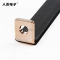 新能源銅排硬連接 優質T2紫銅連接排 折彎硬銅排電池連接件 5