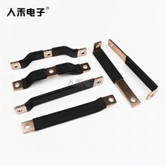 新能源銅排硬連接 優質T2紫銅連接排 折彎硬銅排電池連接件