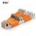 折弯软铜排 Z字电流排 T2紫铜导电排 电池连接件 2