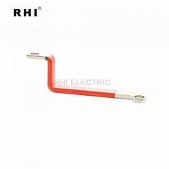 电动车电池连接铜排不带护套 紫铜镀锡材质 交期稳定