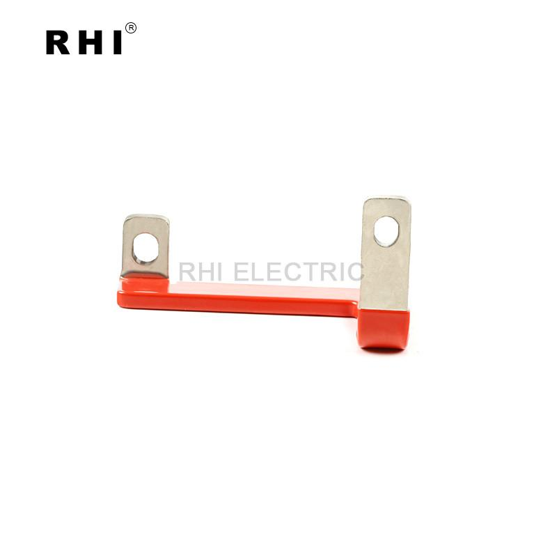 電動車電池連接銅排不帶護套 紫銅鍍錫材質 交期穩定 3