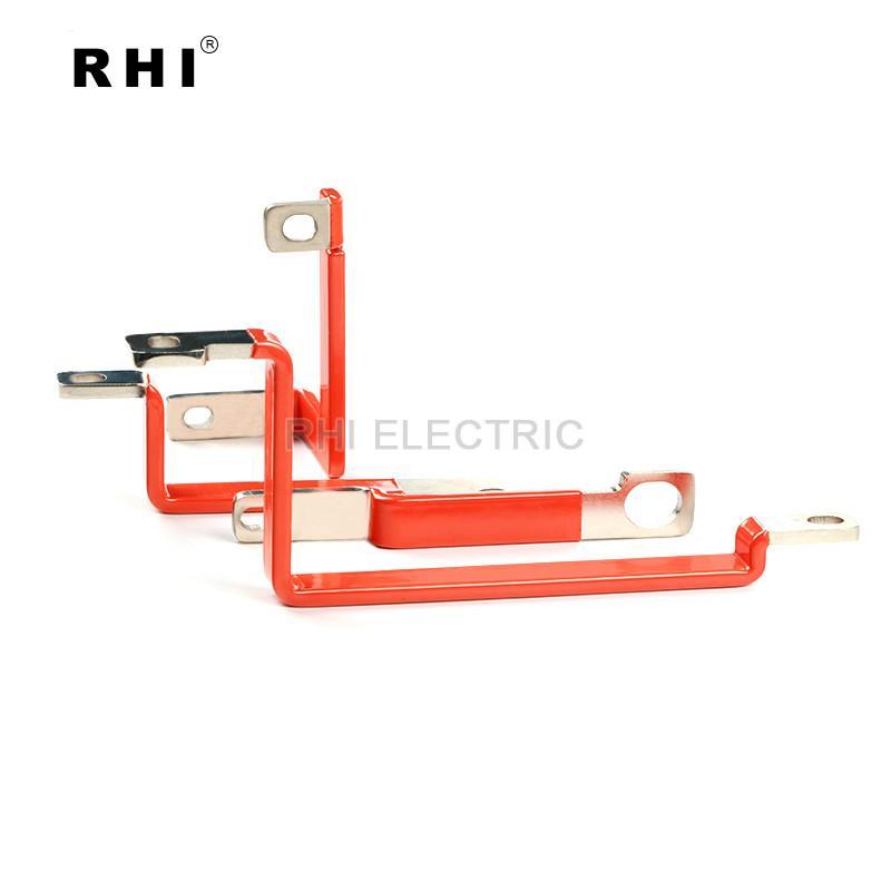 電動車電池連接銅排不帶護套 紫銅鍍錫材質 交期穩定 4