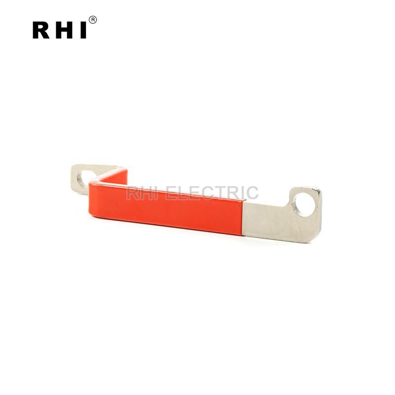 電動車電池連接銅排不帶護套 紫銅鍍錫材質 交期穩定 7