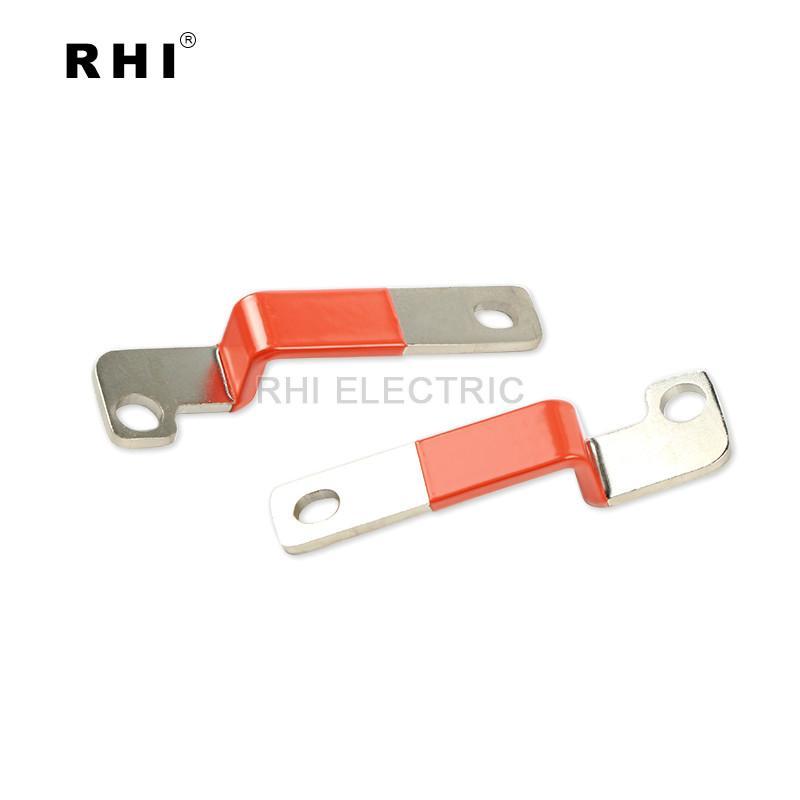 Bending copper bus bar , solid copper busbar 3