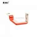 Bending copper bus bar , solid copper busbar 4