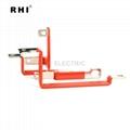 Bending copper bus bar , solid copper busbar 6