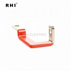 Different sizes copper busbar,sold electric bus bar