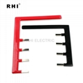 PVC dipping insulated bus bar, battery copper busbar 2