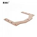 Rhi copper busbar copper flat bar zhejiang 1/2 inch copper busbat