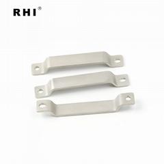 定制加工 紫铜母线排软连接 浸塑绝缘配件折弯铜排