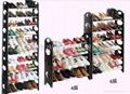 慶諾簡易組裝塑料10層多層鞋架鞋櫃 2