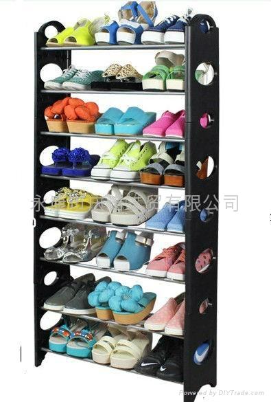 慶諾簡易組裝塑料10層多層鞋架鞋櫃 4