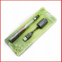 Leather eGo-Q battery with CE4 clearomizer,650mAh eGo-Q blister kit