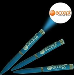 定製LOGO投影筆 激光投影圓珠筆 LED廣告投影燈