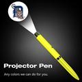 定制LOGO投影笔 激光投影圆珠笔 LED广告投影灯 3
