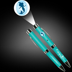 定制LOGO投影笔 广告投影笔圆珠笔为广告促销礼品