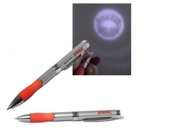 LED金属投影笔 LOGO投影 硅胶投影笔时尚促销礼品圆珠笔 3