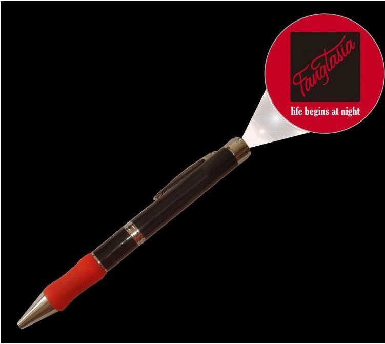 LED金属投影笔 LOGO投影 硅胶投影笔时尚促销礼品圆珠笔 4