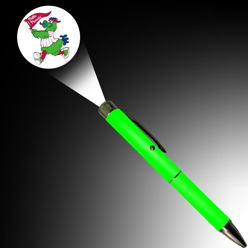 金属LED 投影笔 定制LOGO投影灯笔为促销礼品 3