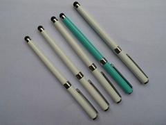 高档电容屏触控笔 中性签字笔芯2合1手写笔适用于智能手机及平板