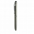 Stainless steel capacitive touch pen