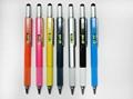 多功能金属工具笔 5合1触摸笔