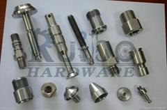 High precision axles by CNC machine