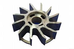 铜铸件涡轮叶轮