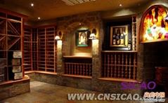 長沙超市展示酒架,紅酒櫃