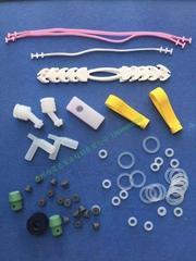 食品级耐热硅胶壶嘴吸管垫圈环片工业民用制品