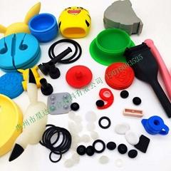 定制做各种电子硅胶零部配件工业制品家庭用品生产厂家