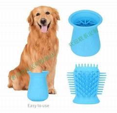 宠物狗洗脚硅胶清洁杯刷污垢