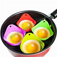 水煮蛋杯煎蛋托盘无毒硅胶