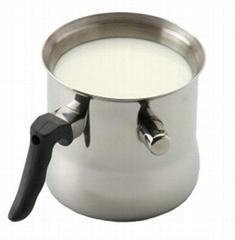 雙層不鏽鋼奶杯