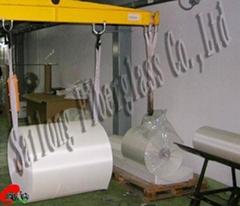 Glass wool Cloth bandage