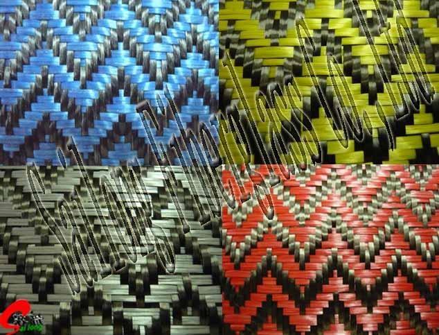 Glitter Carbon Jacquard Fabrics 1