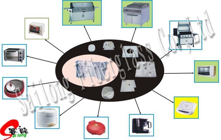 Fiberglass insulation mat 1
