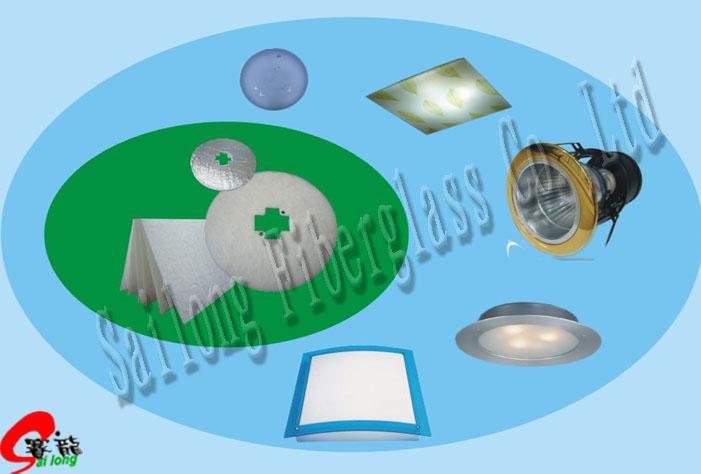 Fire Proof Fiberglass Cotton for Lighting Industry 1