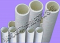 Fiberglass heat retention pipe