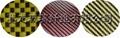 Colorized  fibreglass cloth
