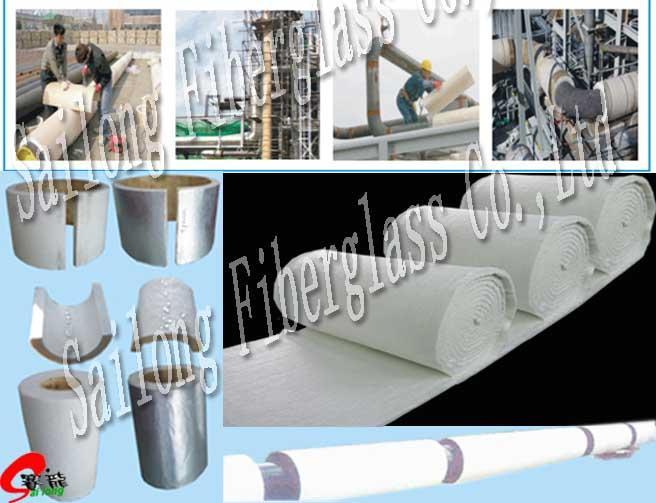 石油管道气凝胶保温毡 1