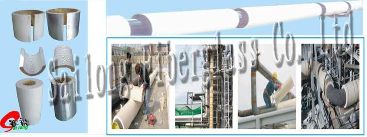 Heating pipe Aerogel Insulation Mat 1