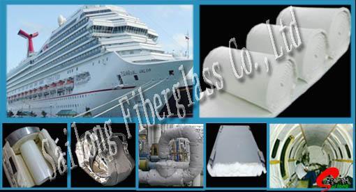 Aerogel Insulation mat for ship 1