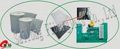 发电机组吸音材料,消音棉,隔音棉