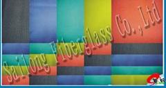 彩色玻璃纤维布