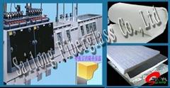 Industrial equipment  heat retention mat