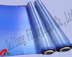 蓝色电镀布