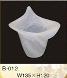Alabaster hand made glass lamp shade