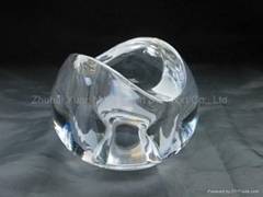 Lead Crystal Machine-Pressed Lampshade